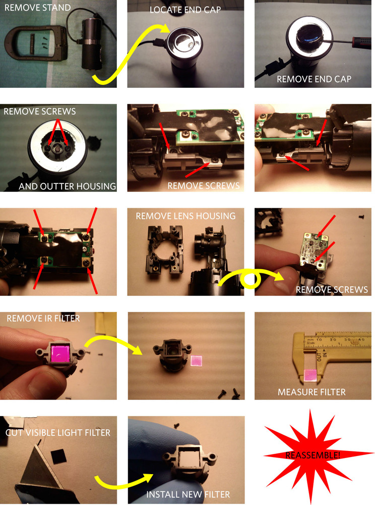 How To: Infrared Web Cam | Blog
