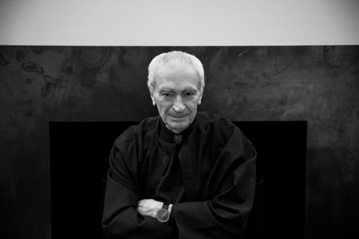 Lessons from a Master: My Meeting with Massimo Vignelli | Blog